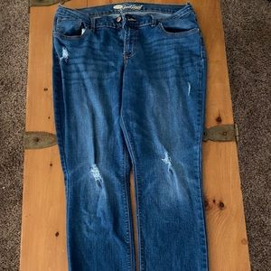 Old Navy, size 12, sweetheart jeans